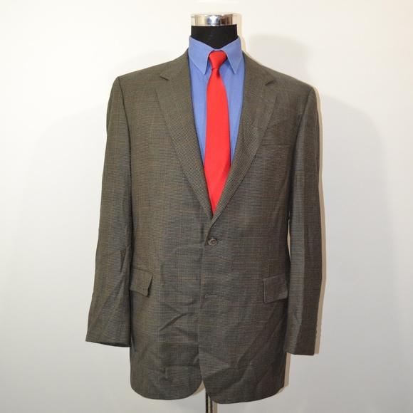 Jos. A. Bank Other - Jos A Bank 44L Sport Coat Blazer Suit Jacket Green